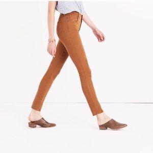 Madewell High Riser Sateen Skinny Jean 26
